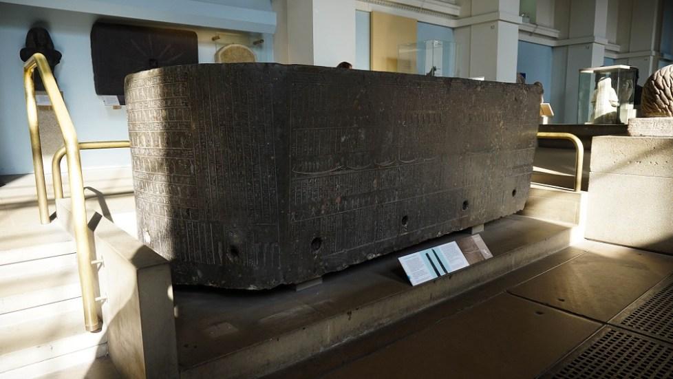 Sarcofaag in British Museum in Londen