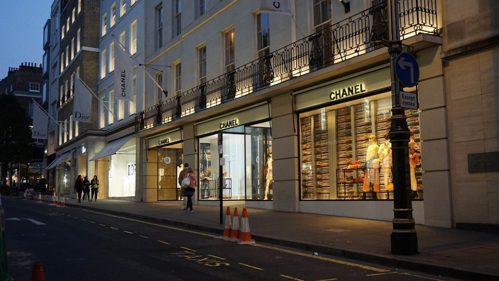 New Bond Street in Londen