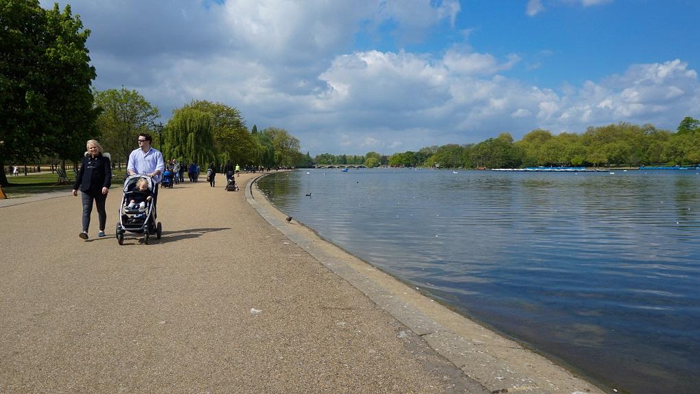 Meer in Hyde Park