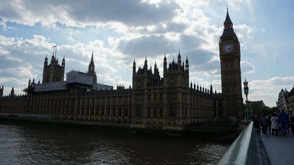 Big Ben & Parliament Building in Londen