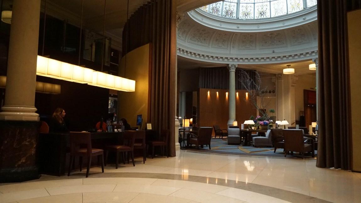 Receptie Threadneedles Hotel in Londen