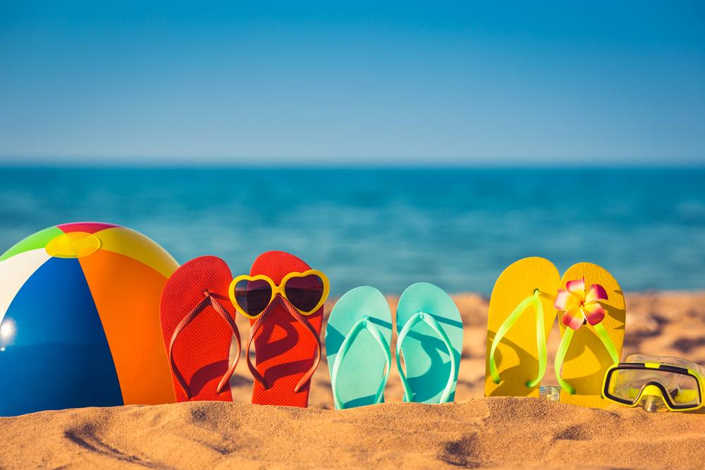 Vakantie naar de zon