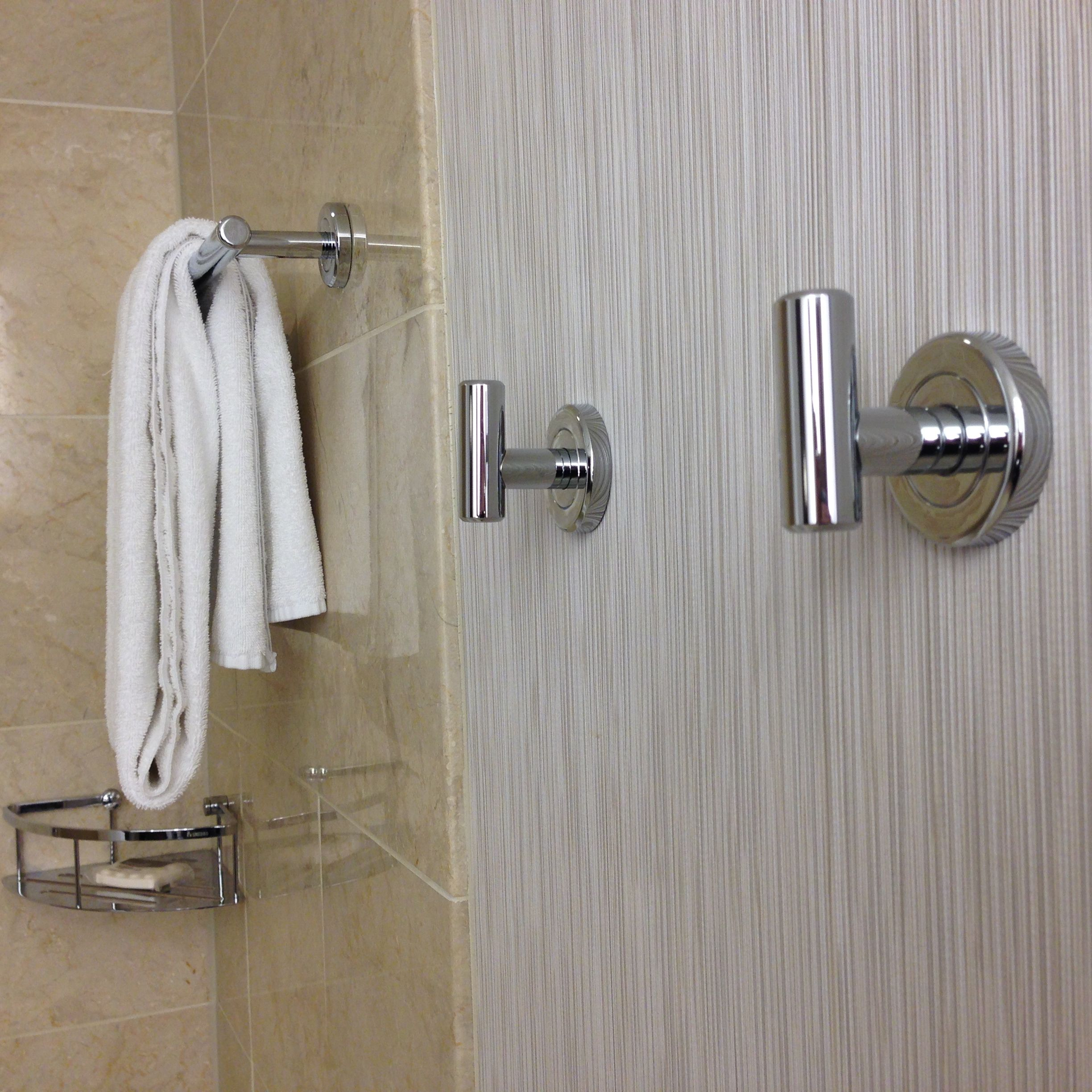 This Hotel Bathroom Feature Has Me 'hooked'  Travelupdate