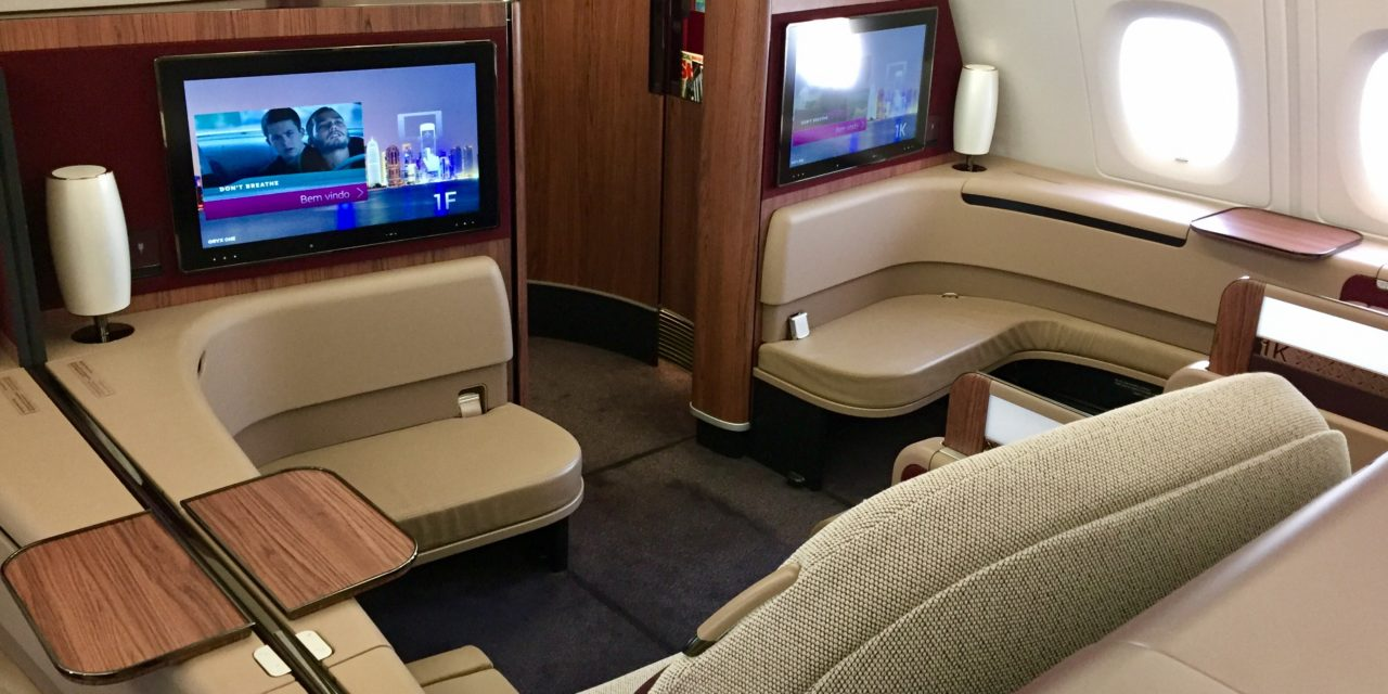 flight review qatar airways