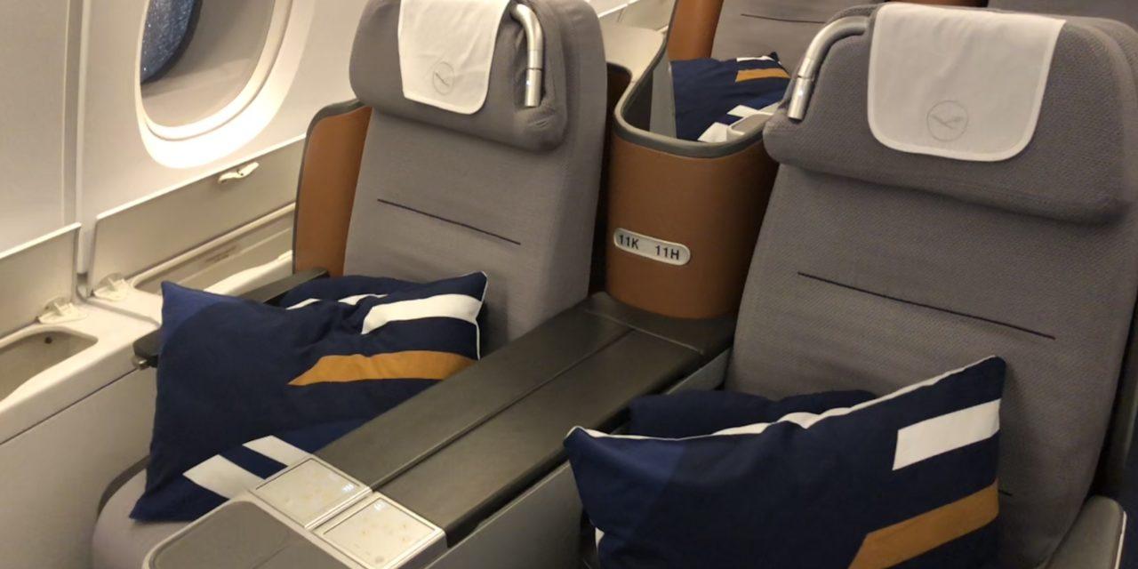 flight review lufthansa business