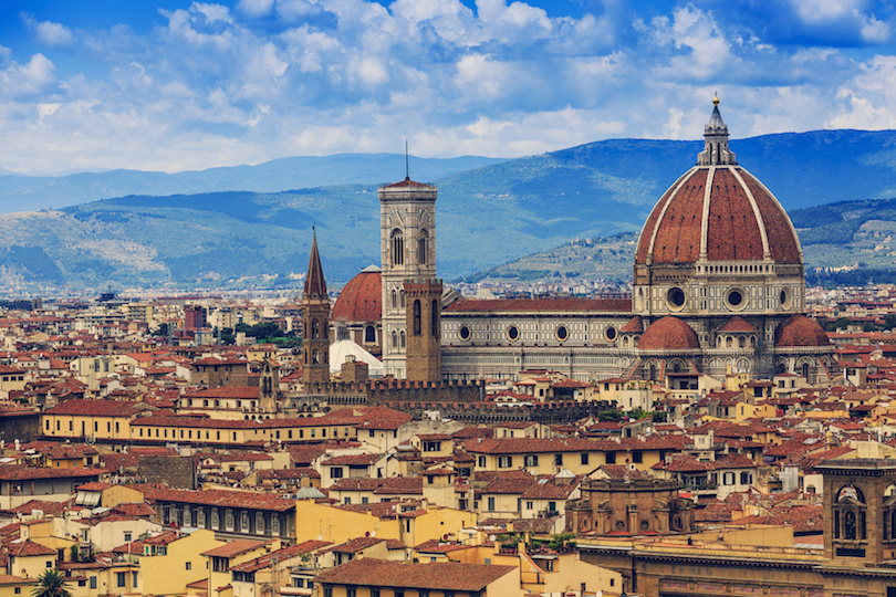 Florence, Italy - view of the city