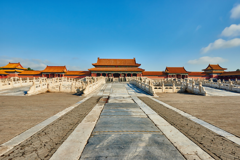 Gate Of Supreme Harmony Imperial Palace Forbidden City