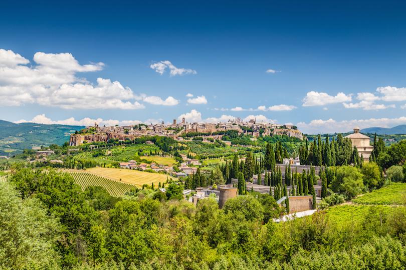 Old town of Orvieto, Umbria, Italy