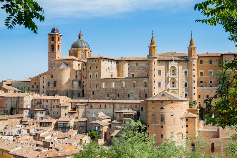Ancient castle of the Duke of Urbino