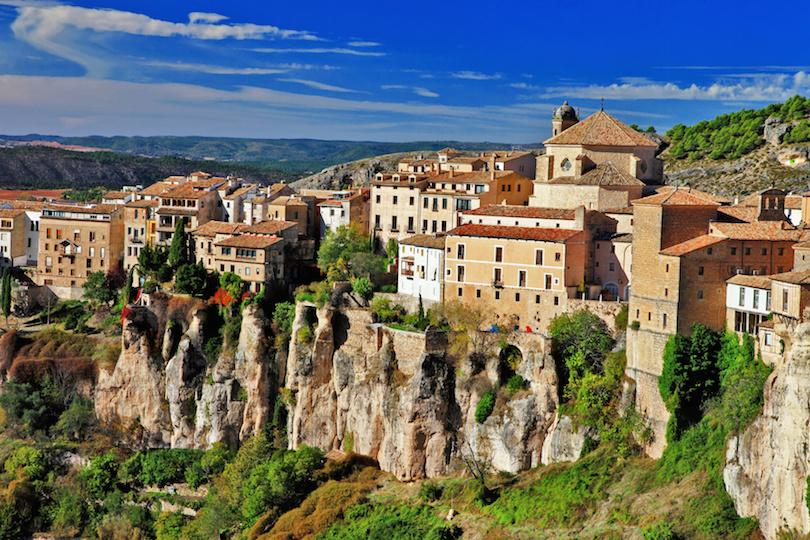 Cuenca cliffs
