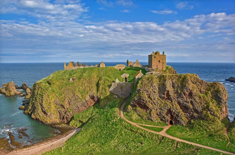 Dunnotar Castle Stonehaven Scotland