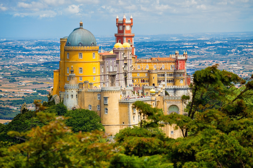 Pena National Palace above Sintra
