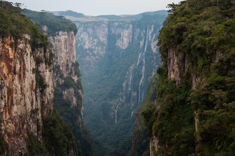 Itaimbezinho Grand Canyons in Rio Grande do Sul, Brazil