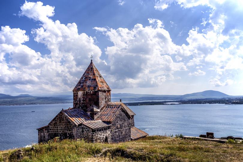 Sevanavank, Church at Lake Sevan