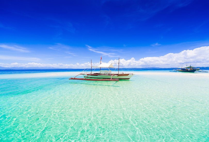 Philippines, tropical sea boat day!