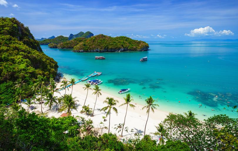 Angthong national marine park, koh Samui, Thailand