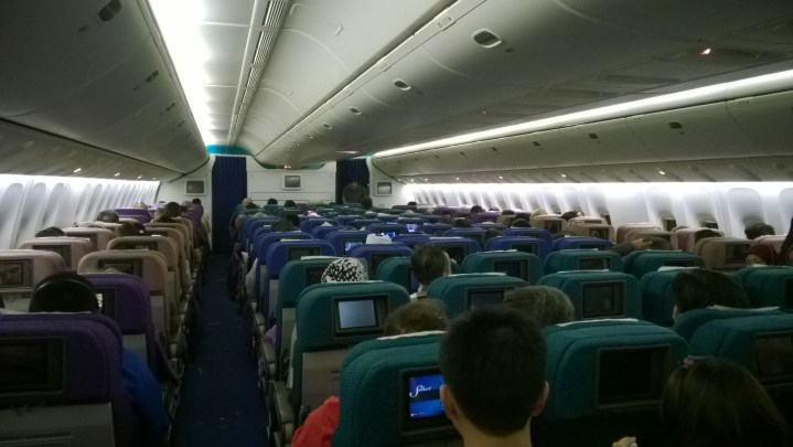 Malaysia Airlines Boeing 777 Seating