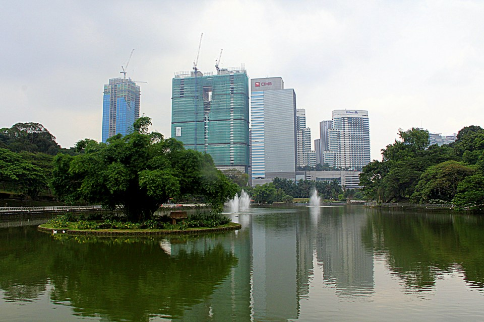 The Botanic Garden is right in the middle of KL!
