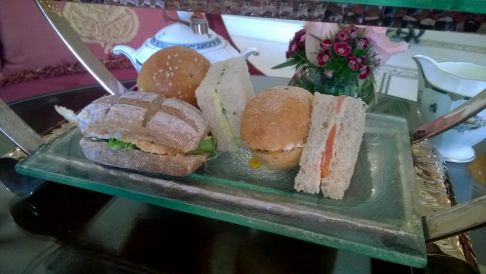 Several different sandwiches