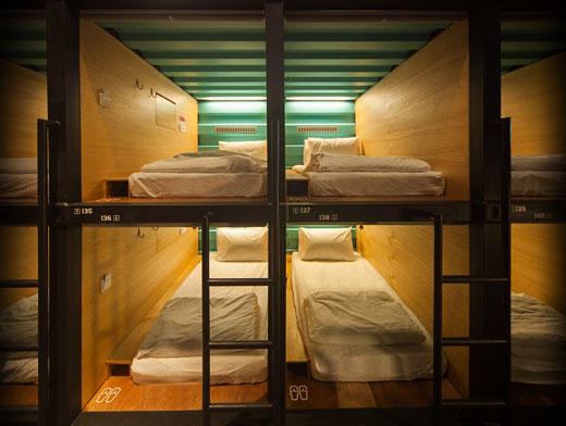 The Capsule Hotel at KLIA (Image Source: KLIA / klia.com.my)
