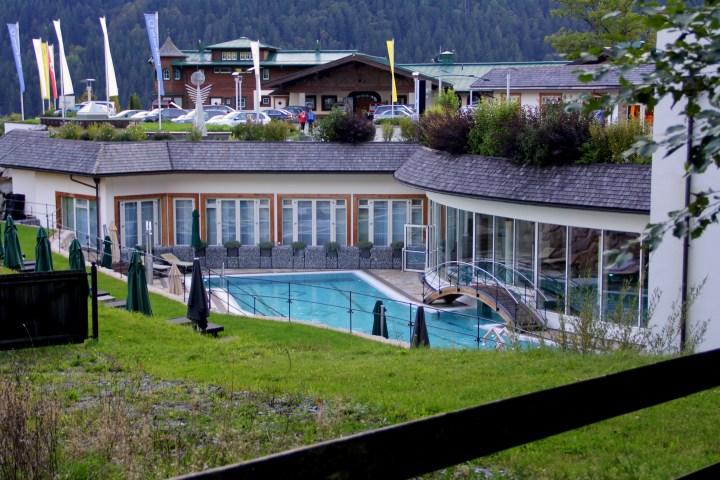 Grand Hotel Tirolia Kitzbühel Pool