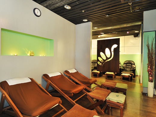 The Relexeology and Massage Center at KLIA (Image Source: KLIA / klia.com.my)