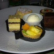 Chocolate, Fruit and Jam