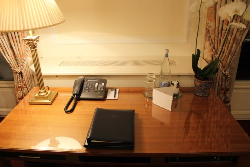 Working Desk at the Bellevue Palace