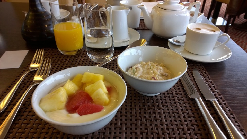 Breakfast at Hotel Palace