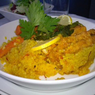 Fish with couscous
