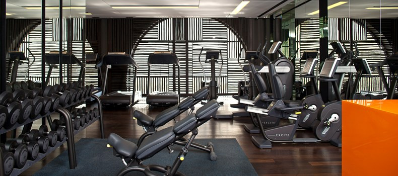 Huge gym with state-of-the-art machines (Image Source: The Leading Hotels of the World / lhw.com)