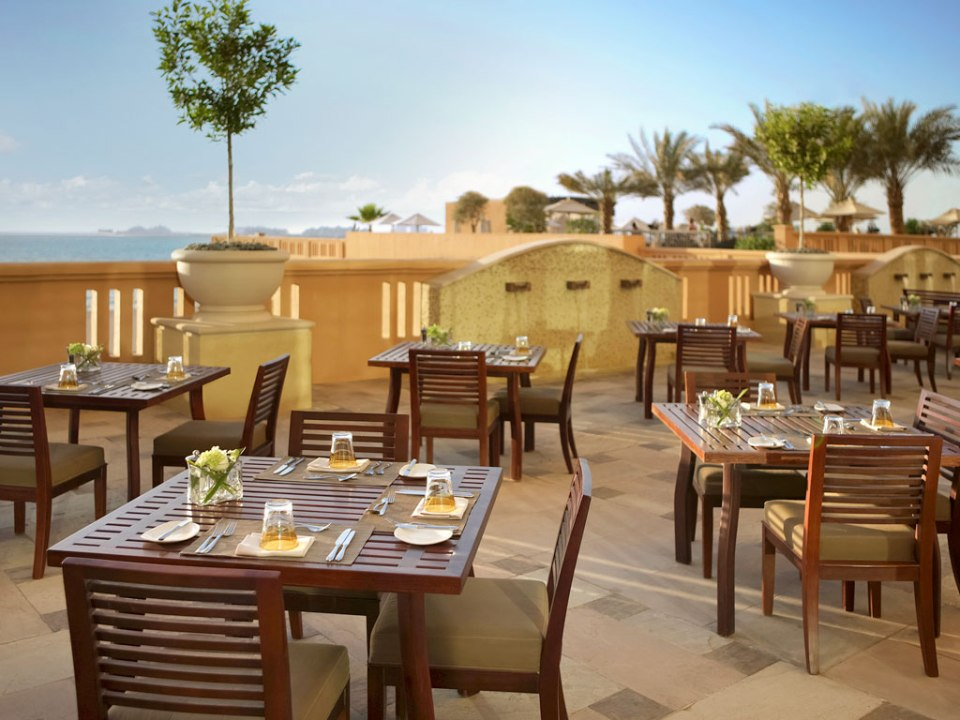 Beautiful views from the restaurants terrace (Image Source: Sofitel Dubai Jumeirah Beach / sofitel.com)
