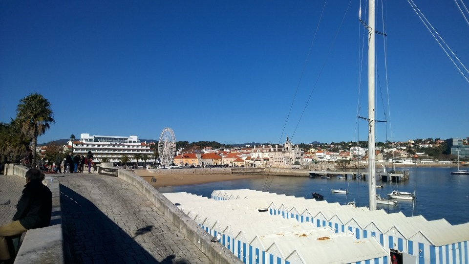View on the bay of Cascais