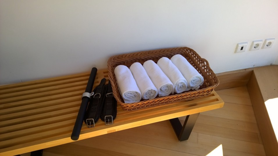 For the guests comfort
