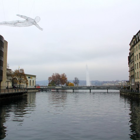 Jet D'Eau and Art