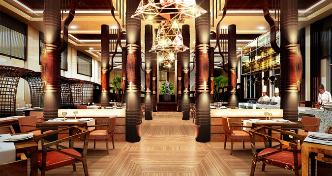 Elements Restaurant at the Hilton Nay Pyi Taw (Image Source: Hilton Nay Pyi Taw / hilton.com)