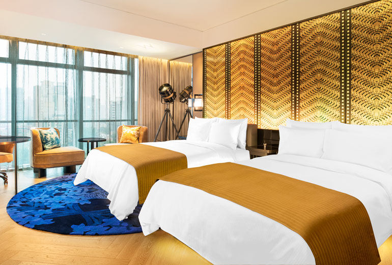 Even the standard room is expensive at the W Beijing (Image Source: W Beijing Chang'an / starwoodhotels.com)