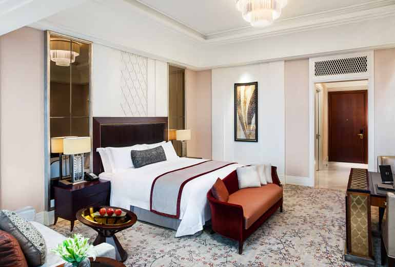 "The ""lowest"" room category with a size of 65 square meters (Image Source: St. Regis Changdu / starwoodhotels.com)"