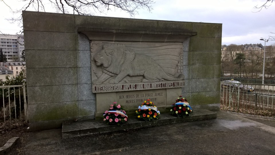 Monument for heroes of World War II