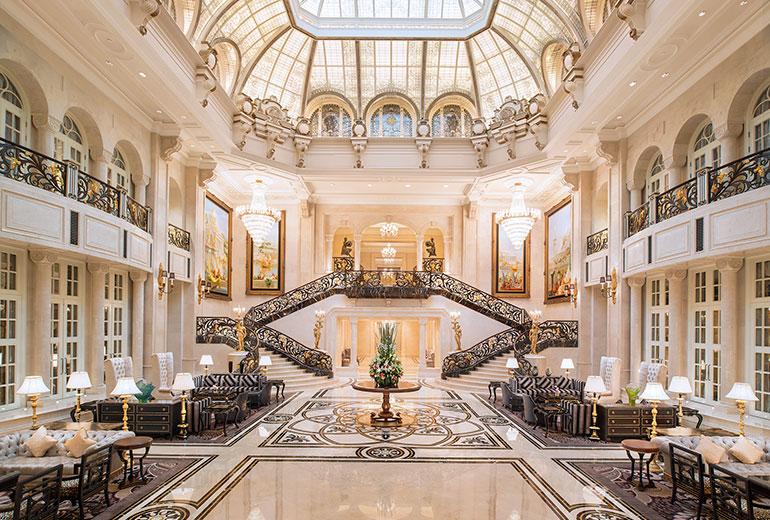 Lobby (Image Source: The Castle Hotel Dalian / starwoodhotels.com)