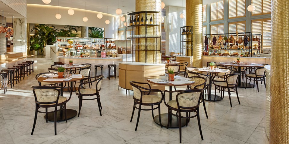 Looking for a great coffee? You are at the right spot at Market! (Image Source: The Miami Beach Edition / editionhotels.com)