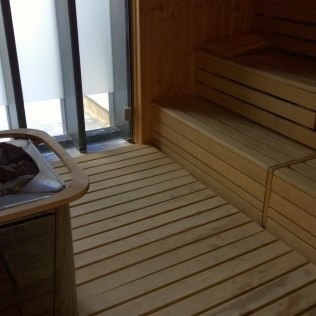 Sauna with a special touch: Daylight
