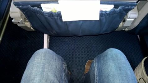 Reasonable seat pitch