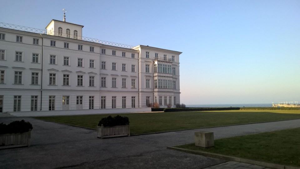 My starting point: Grand Hotel Heiligendamm