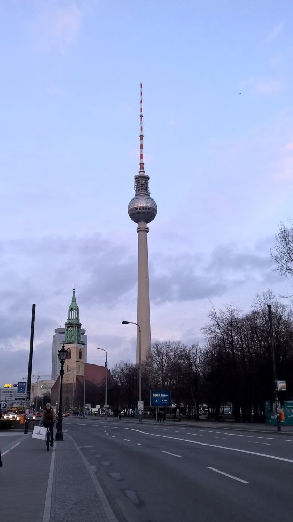 Berlin's tallest building: The TV Tower