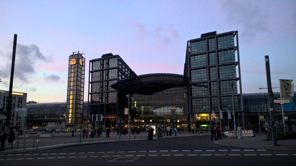 Berlin's modern central station