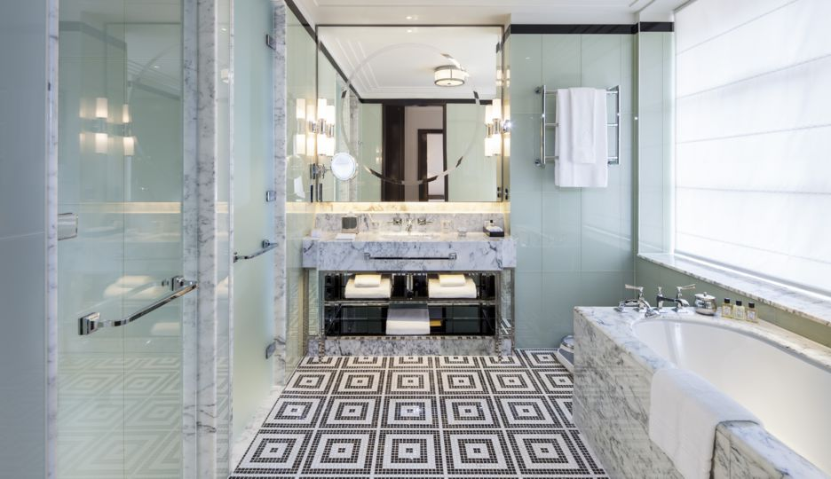Bathroom (Image Source: The Beaumont London / thebeaumont.com)