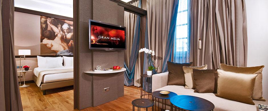 Junior Suite Red Level (Image Source: Gran Meliá Rome / melia.com)