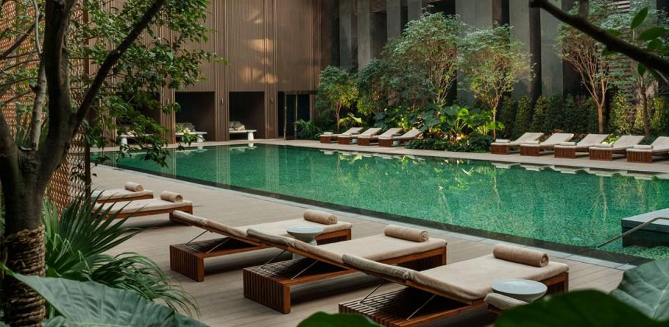 Outdoor Pool (Image Source: Rosewood Beijing / rosewoodhotels.com)