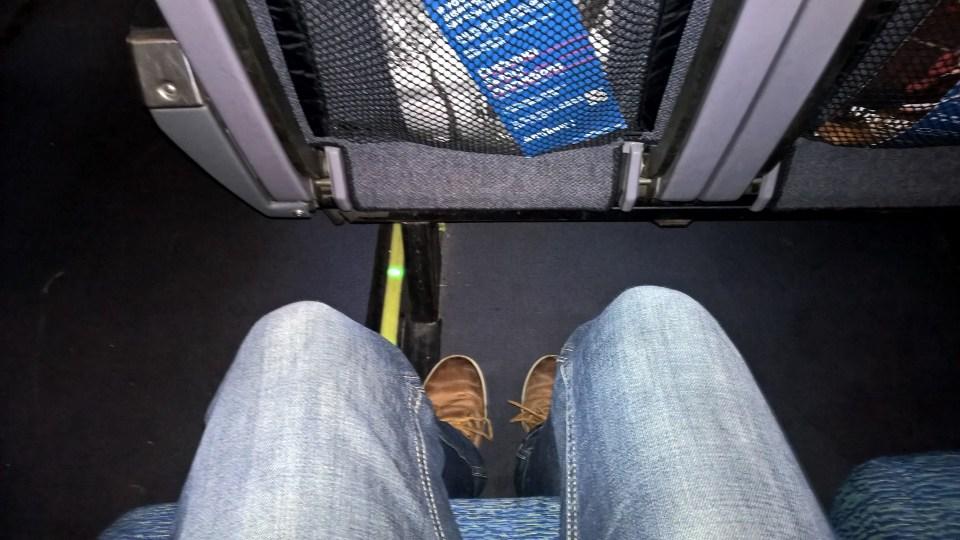 Generous Seat Pitch